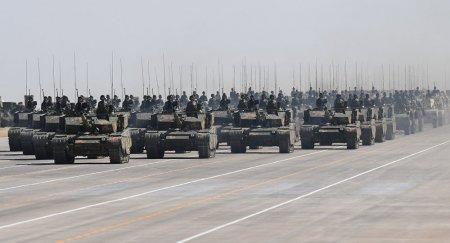 Минобороны разъяснило, что делают танки Китая на территории Казахстана