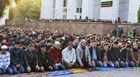 Главный муфтий поздравил казахстанцев с Курбан-айтом