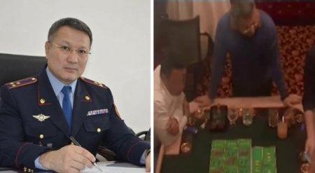 Начальник ДВД Атырауской области объяснил видео из казино