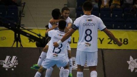 Казахстан сыграет в финале чемпионата мира по футзалу