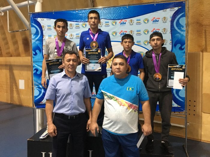 Боксеры из Мангистау завоевали семь золотых медалей на республиканском турнире