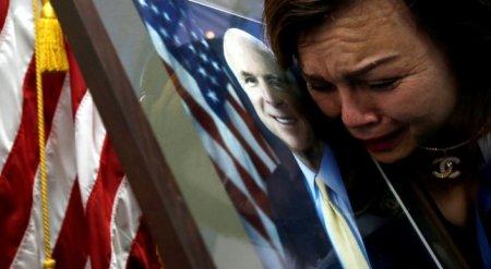 Опубликовано прощальное послание Маккейна