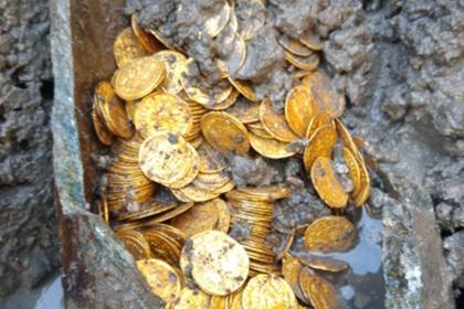 Сокровища Древнего Рима нашли в неожиданном месте