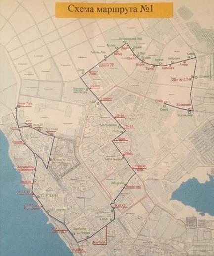 Новый маршрутный автобус планируют запустить в Актау