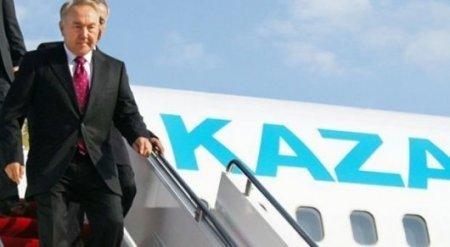 Назарбаев прилетел на Иссык-Куль