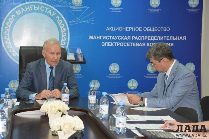 Бакытжан Бекмуратов: С 2019 года ГКП «АУЭС» передает полномочия АО «МРЭК»