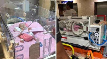 Двухмесячная девочка доставлена из Турции в Казахстан