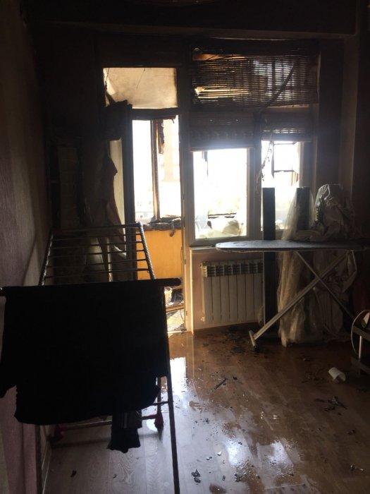 В 10 микрорайоне Актау произошел пожар в жилом доме