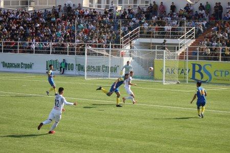 «Каспий» сыграл вничью с алматинским «Кайрат-А»