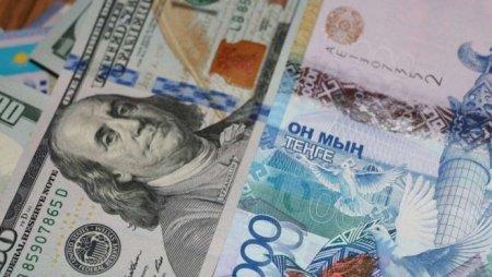 Курс доллара составил 372,22 тенге на торгах