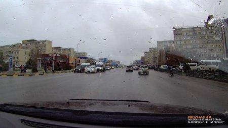 На дорогах Актау ВИДЕО