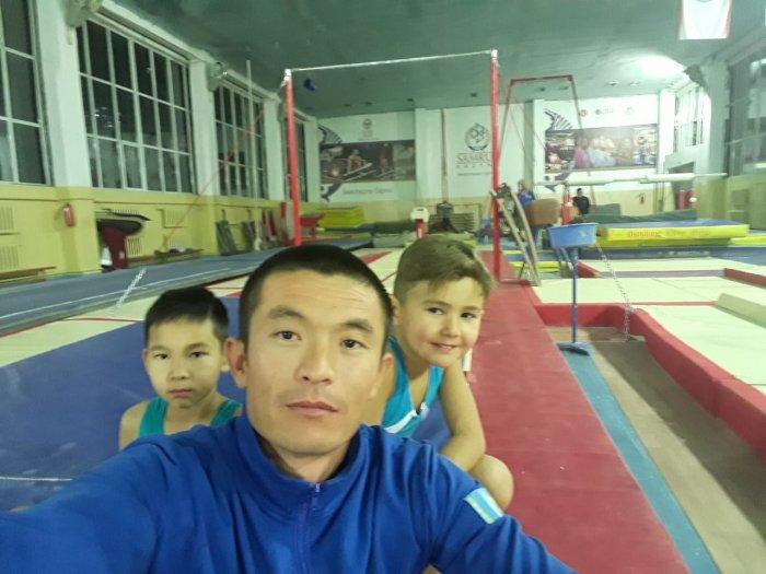 Юные атлеты Актау завоевали две медали на республиканском турнире по спортивной гимнастике
