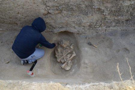 Предположительно сарматского периода захоронения обнаружены в Мангистау
