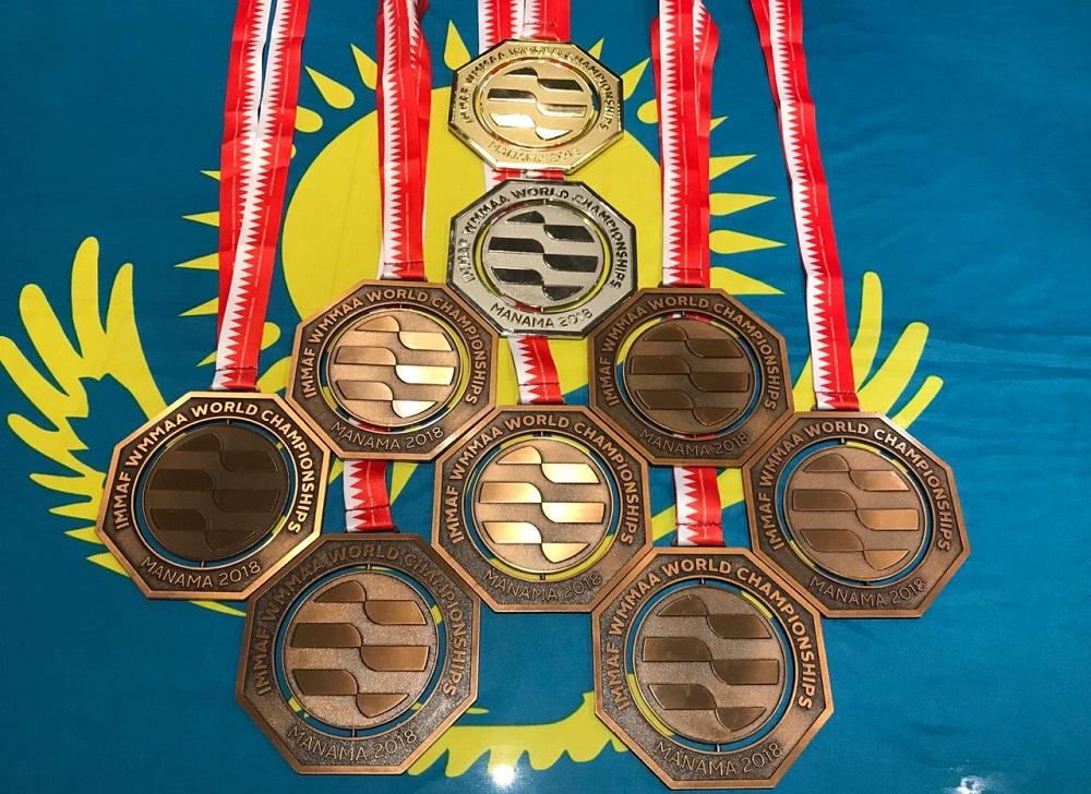 Мангистауские бойцы завоевали две медали на чемпионате мира по ММА