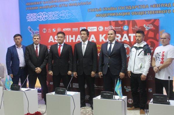 В Актау пройдет чемпионат мира по ашихара-каратэ