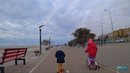 Вся набережная на велосипеде ВИДЕО