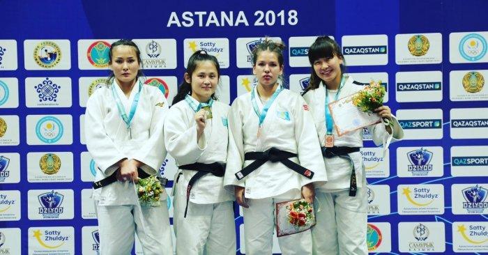 Спортсменки из Актау завоевали две золотые медали на чемпионате РК по дзюдо в Астане
