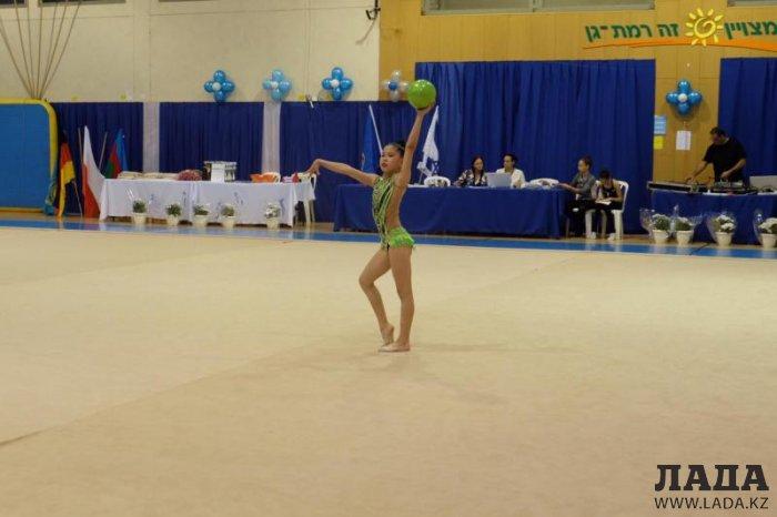 Юные гимнастки из Мангистау завоевали восемь медалей на международном турнире в Израиле