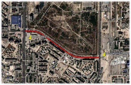 В Актау перекроют участок дороги между 8 и 10 микрорайонами