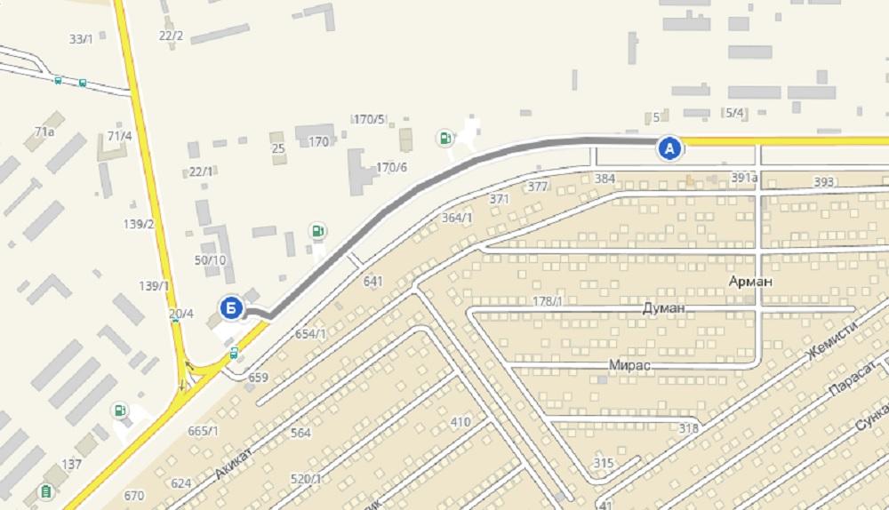 Участок дороги в Актау расширили до 4-х полос
