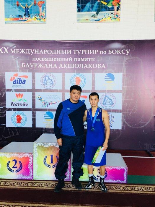 Боксёры из Мангистау нокаутировали своих соперников на международном турнире в Актобе