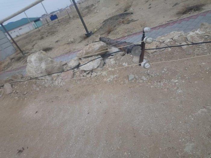 В селе Сайын Шапагатов после сильного ветра восстановлено энергоснабжение