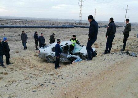 ДТП в пригороде Актау: погибли две женщины