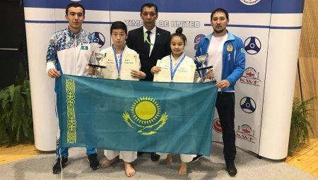 Две бронзовые медали завоевали спортсмены из Мангистауской области на чемпионате мира по киокушинкай карате