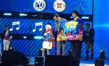 Дильназ Тилепова из Актау завоевала приз зрительских симпатий на республиканском песенном конкурсе «Бала дауысы-2018»