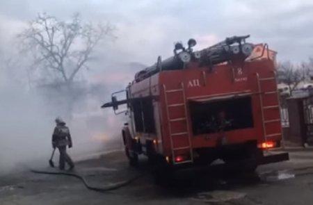 Пожар в 4 микрорайоне