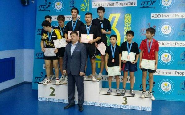Тренер и его ученик из Актау стали призерами чемпионатов по теннису