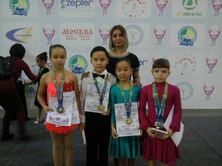 Танцоры из Актау заняли призовые места на международном турнире