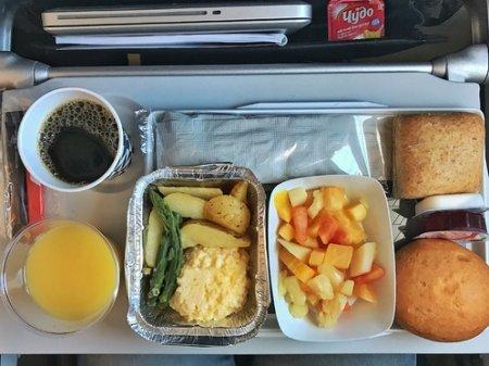 Американский пилот рассказал об опасности еды на борту