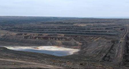 Заброшенный урановый карьер возле АКТАУ ВИДЕО