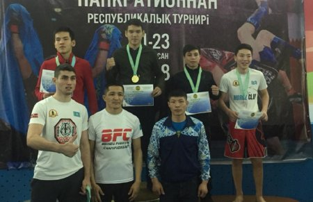 Спортсмены Мангистау привезли 25 медалей с республиканского турнира по панкратиону