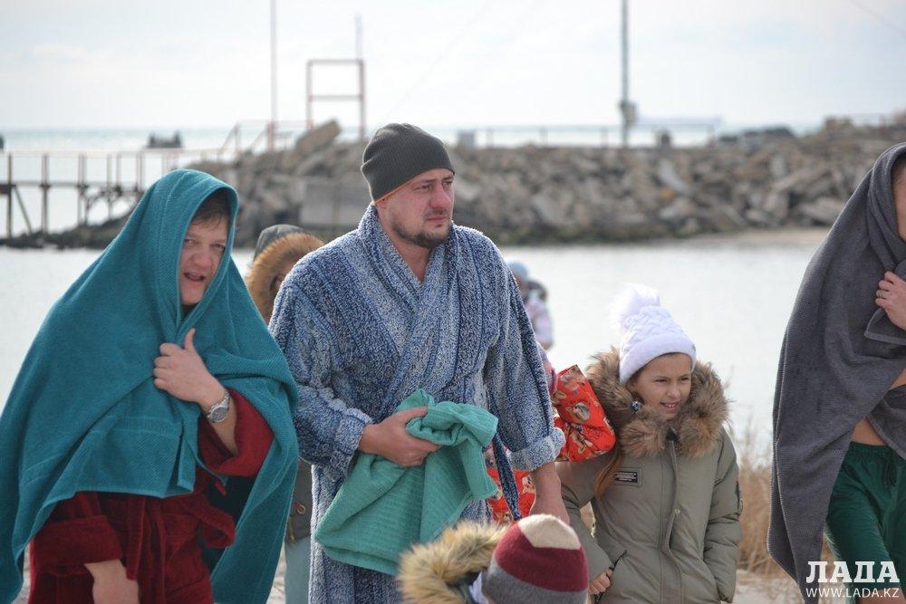«Крещение Off-Road» прошло на берегу моря возле Актау