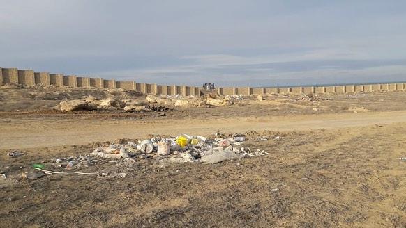 Сотрудники акимата Актау вывезли 400 тонн мусора