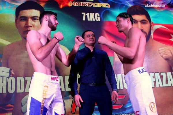 Руслан Сариев из Мангистау завоевал чемпионский пояс NFC WEST в Актау