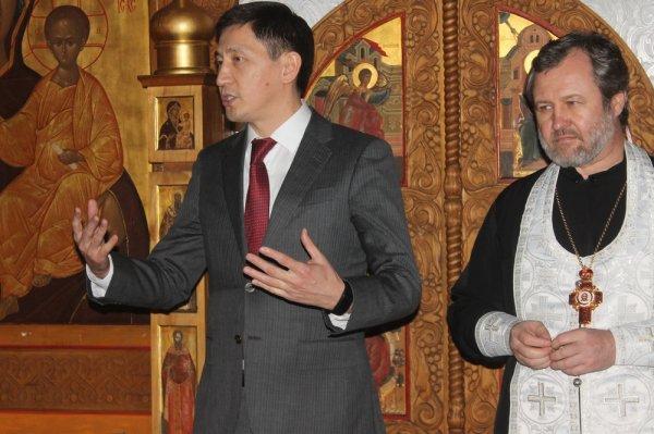 Православные Актау встретили Рождество Христово