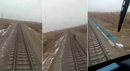 Видео с попавшим под поезд мужчиной снято в Казахстане - КТЖ