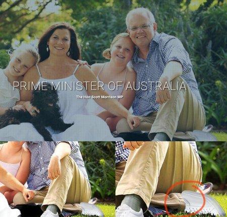 Две левые ноги премьер-министра Австралии удивили пользователей соцсетей