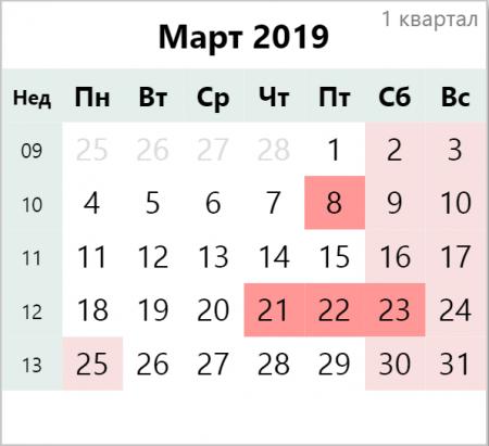 Сколько дней отдохнут казахстанцы в марте
