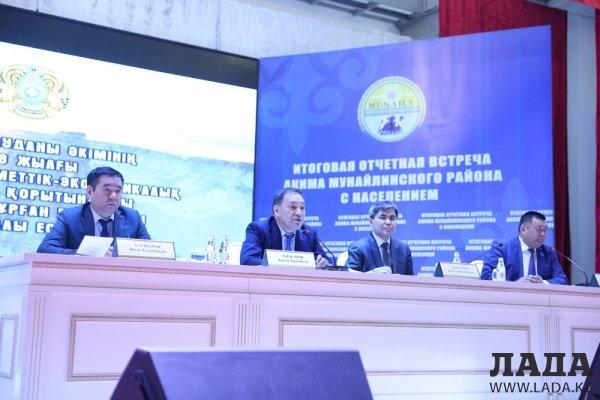 Мунайлинский район: Строительство, газификация и водоснабжение поселков