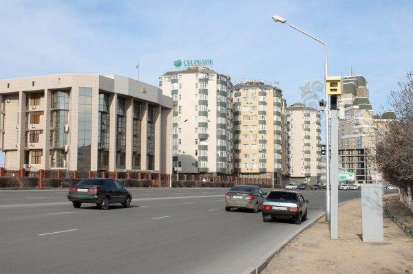 Смотри в оба: В Актау заработала новая камера видеонаблюдения на проспекте Президента