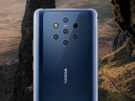 Представлен первый смартфон с пятью камерами