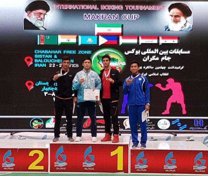 Боксеры из Мангистау завоевали две медали на международном турнире в Иране