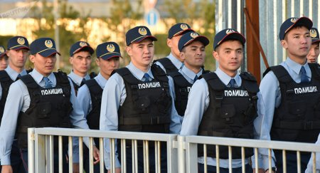 Полиция Казахстана осталась без новой формы
