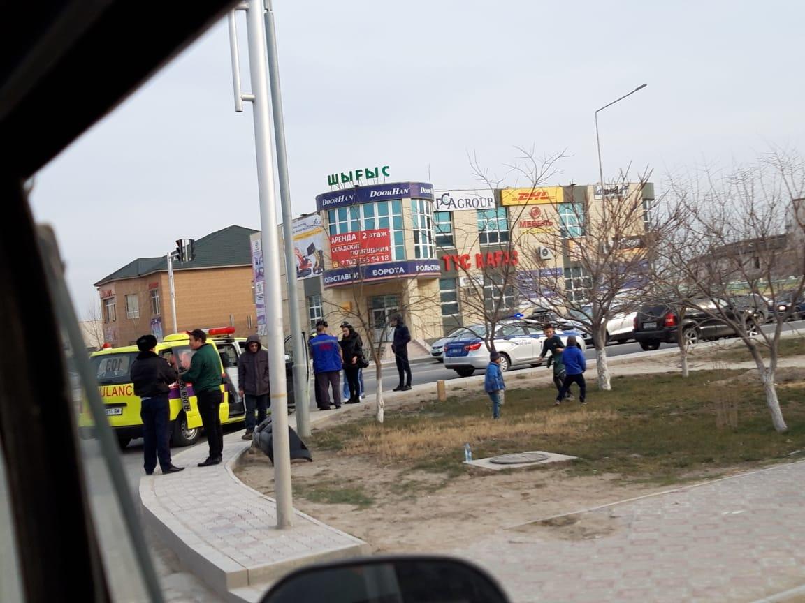 Женщина пострадала в результате ДТП в Актау