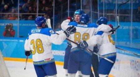 Сборная Казахстана по хоккею обыграла канадцев на Универсиаде-2019