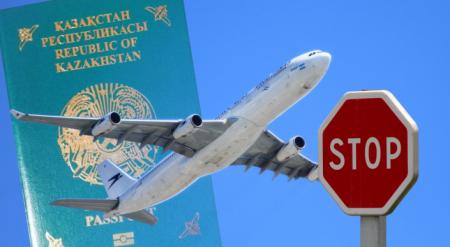 Причины, по которым могут запретить выезд из Казахстана